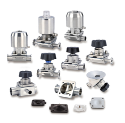 DIAPHRAGM VALVES from MILLIPURE WATER SYSTEM