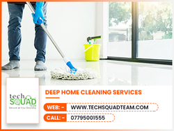 Home Cleaning from TECHSQUADTEAM